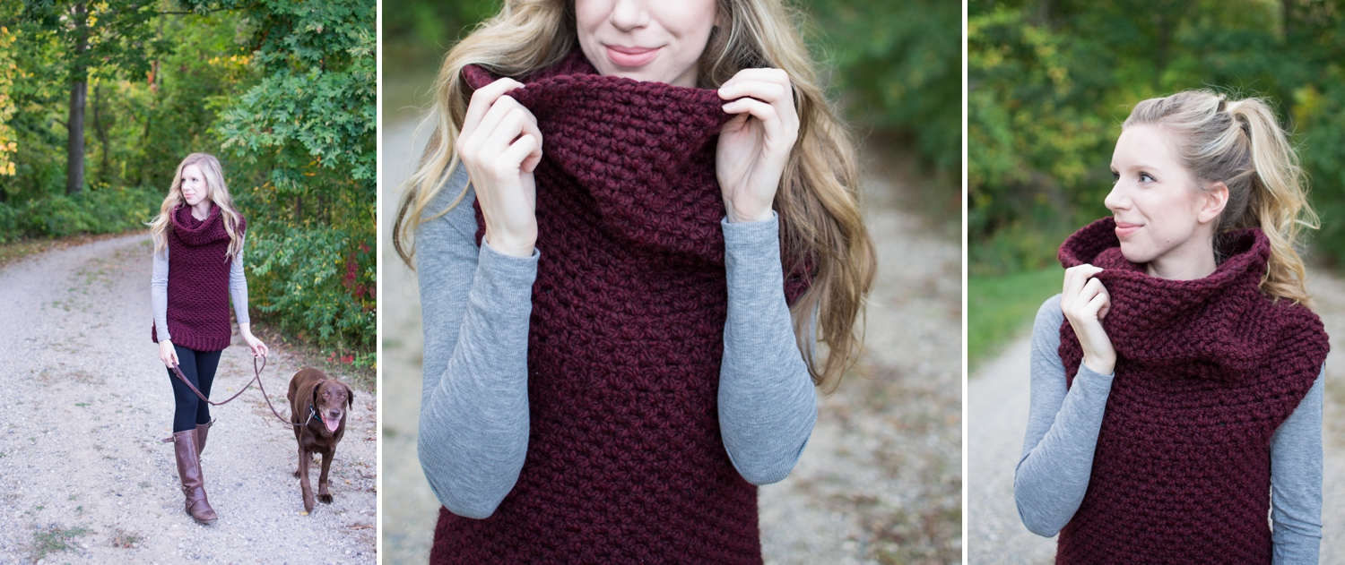 The Chain Link Armored Cowl Crochet Pattern - Woods and Wool