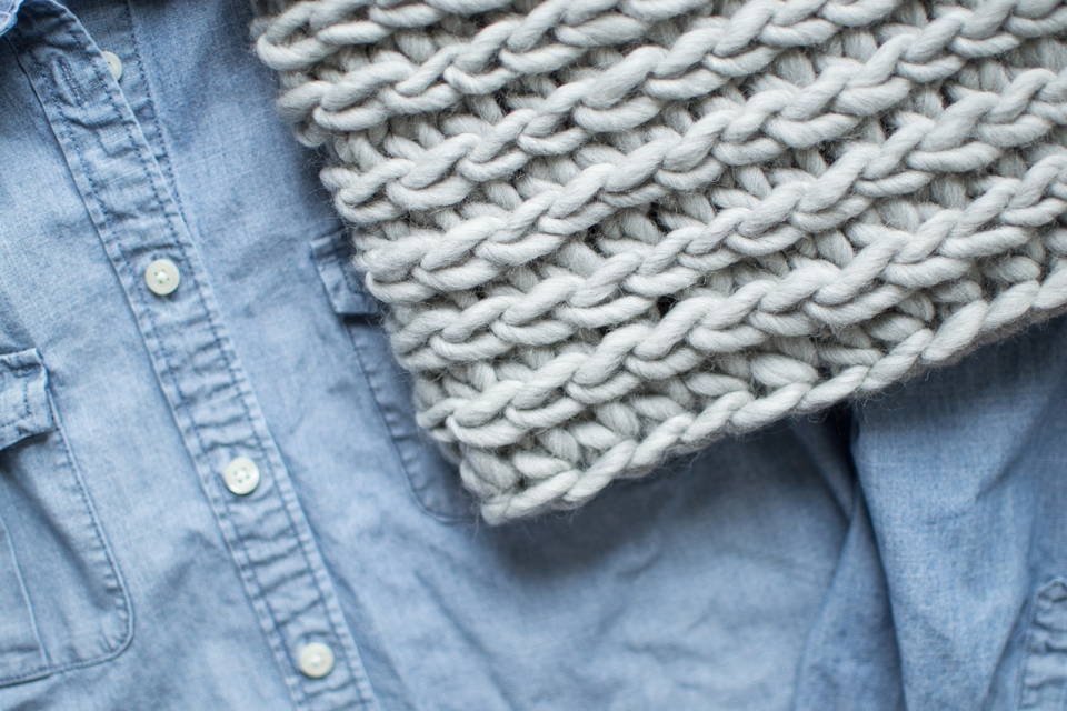 Free Crochet Pattern: The Ridge Cowl - Woods and Wool